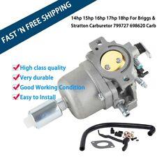 Replace Carburetor Fit For Briggs & Stratton 799727 698620 791886 690194 499153