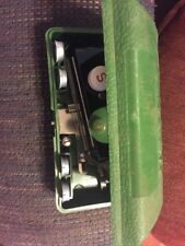 Vintage Singer Buttonholer Sewing Machine Attachment with Green Case
