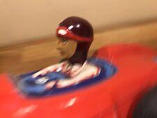Tête du pilote pour Mercedes Flèche d'argent jouets MEMO Mémo Rouge