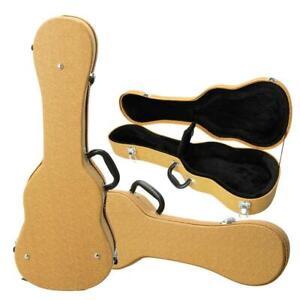"26"" Tenor Guitar Ukulele Hard Shell Case Artifical Leather Yellow"