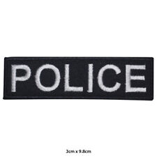Police Games Movie Embroidered Patch Iron on Sew On Badge For Clothes Bags etc