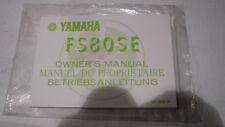 Fahrer Handbuch Bedienungsanleitung Original Yamaha  FS80SE Bj 80