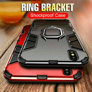 Dust proof Shockproof Armour Heavy Duty Tough Case Cover iPhone SE 6 7 8 X 11 12