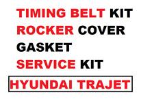 Para Hyundai Trajet 2.0 1998- > Regulador Cinturón T Kit + Rocker Junta +