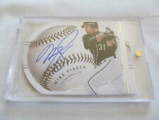2014 National Treasures BB SIGNATURES DIE-CUTS #68 Mike Piazza NY Mets #/10 !!
