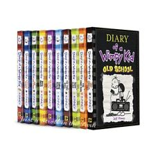 Diary Of A Wimpy Kid Complete Set 1-10 Lot Series (Pdf-eBooks)