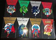 DC ARCHIV EDITION # 1+2+3+4+5+6+7+8 - BATMAN - JLA - SUPERMAN- DINO VERLAG - TOP