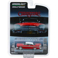 GREENLIGHT 44840 B CHRISTINE MOVIE 1958 PLYMOUTH FURY EVIL VERSION 1/64 RED