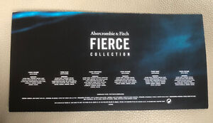 Abercrombie & Fitch Fierce Cologne Collection (6 Fragrance Samples)