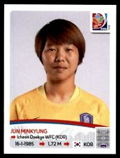 Panini Women's World Cup 2015-Jun minkyung Corea del Sur nº 349