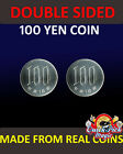 Double Sided Japanese 100 Yen Coin -  100 double sided coin - Made by Real Coins