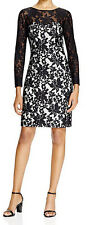 Sue Wong New Long-Sleeve Lace Dress Size 6 #DN 712