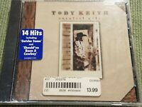 TOBY KEITH GREATEST HITS 14 TRACK NEW SEALED CD