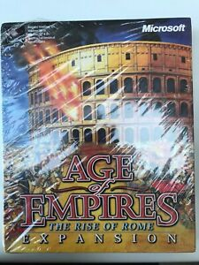 Age Of Empires The Rise Of Rome Expansion Microsoft Big Box New & Sealed