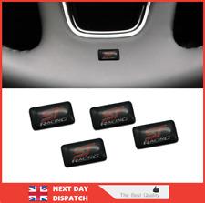4 Small ST Racing Car Badge Sticker Emblem Logo Decal 18mm Ford Focus /-169-