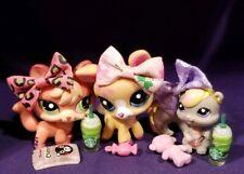 Littlest Pet Shop #2112 Squirrel #2113 Deer Glitter #2114 Fox Pink Authentic