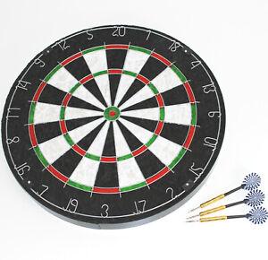 STEELDARTSCHEIBE - Sisal 4 cm stark Dart Board 45 cm Dartscheibe dick 2450 0324