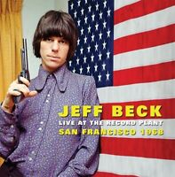 JEFF BECK GROUP - LIVE AT THE RECORD PLANT,SAN FRANCISCO 1968   CD NEW