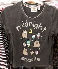 ALL SIZES Official PUSHEEN THE CAT Girls Funny TShirt Cute Cartoon Gift Facebook