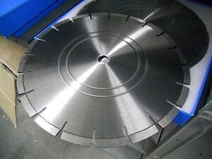 18 x 125 Diamond Pro Cured Concrete Walk Saw Road Street Vault Curb Repair Cut A