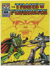 TRANSFORMERS #147; VF, Marvel UK 1988; Comic Comics Death's Head