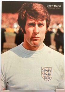 Geoff Hurst + Fußball Nationalspieler England + Fan Big Card Edition D66 +