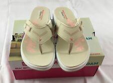 Skechers Women's Upgrades Marina Bay Sandals Memory Foam 40961 Natural Size 8