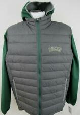 Milwaukee Bucks Mens Large Embroidered 2 in 1 Hoodie and Vest Jacket MBK 4