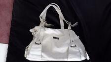 Leather Designer Purse White Soft