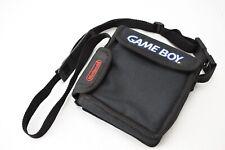 Vintage Official Nintendo Gameboy Pocket Black Soft Carrying Case Shoulder Bag