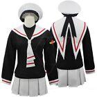 Cardcaptor Sakura Herorine KINOMOTO SAKURA School Uniform Cosplay Costume