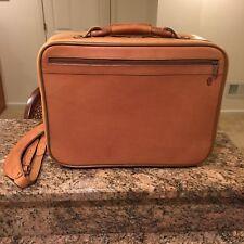 Hartmann Belting Leather Attache Travel Briefcase with Fan File Super Rare!