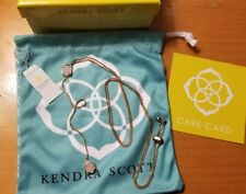 kendra scott iridescent y necklace
