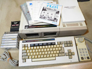 Coleco Adam Family Computer System w/tapes, keyboard, joystick - TESTED, WORKS!