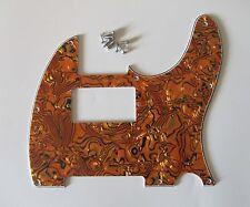 Tele Telecaster Style Humbucker Pickguard Scratch Plate Tiger Stripe