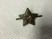 USSR Soviet Khaki Star Infantry  Hat/cap Metal Pin Badge