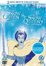 THE SNOW QUEEN & SNOW QUEEN'S REVENGE 2 DISC BOX SET UNIVERSAL UK 2013 DVD L NEW