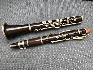 Vintage Cabart (Paris) Wooden Clarinet