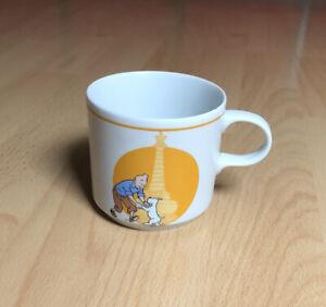 Tim & Struppi Tasse - Unbenutzt - Hergé Vintage Porzellan TinTin Licensing Serie