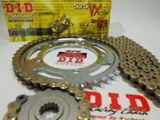 2015-17 Yamaha FZ-07 DID 525 X-Ring 16/43 Gold Chain and Sprocket Kit