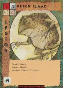 Blood Wars Ccg - Green Slaad / 1st Print