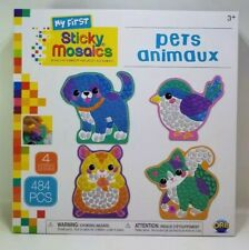 The Orb Factory Sticky Mosaics Pets Animaux Arts and Craft Kit