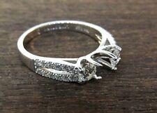 LOVE STORY 14k White Gold Diamond Engagement Ring Setting. *Never Worn*
