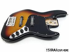 Fender Deluxe Active Jazz Bass V 5-String LOADED BODY Noiseless 3 Color Sunburst