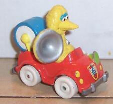 Vintage 1987 Playskool Sesame Street Big Bird Figure in Die Cast car VHTF Rare