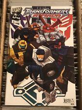 TRANSFORMERS ARMADA #5 JAMES RAIZ COVER 2002 dreamwave comics