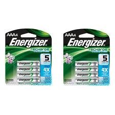 Energizer Pilas Recargables AAA 4 Pack, 2 Count = 8 Baterías