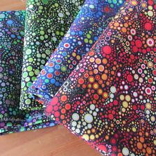 4 fqt bundle Effervescence by Robert Kaufman 100 % cotton digital prints