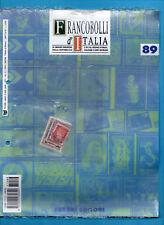 FRANCOBOLLI D'ITALIA-FABBRI EDITORE-Fascicolo n.89- NUOVO SIGILLATO/BLISTERATO