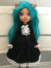 Black&White Dress for Monster High Doll